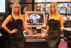 InfinityGames Slant Top Roulette at ICE 2012